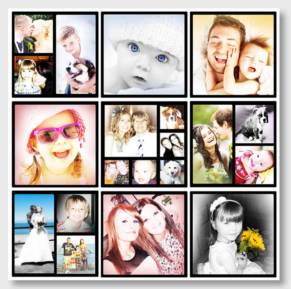 Как сделать монтаж с фотографиями