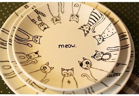喵嗚貓咪餐盤