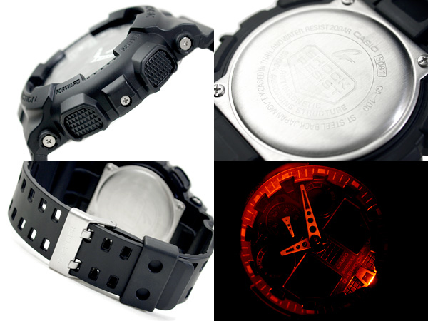 87ec7699027 Buy Casio G-Shock GA-100-1A1 Black Men s Watch