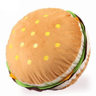 漢堡包大抱枕