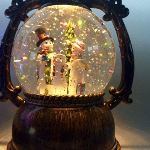 情人節送禮全攻略-童話水晶球燈
