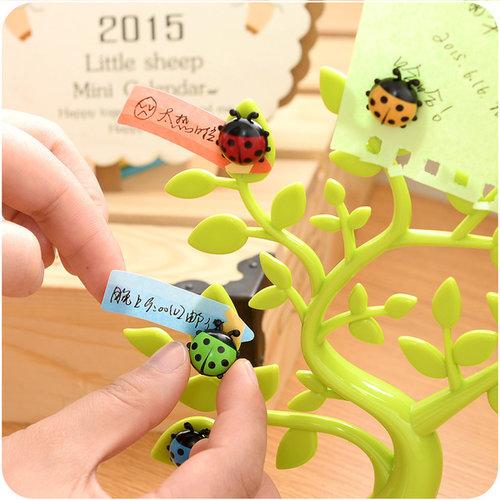創意幸福樹留言貼擺飾品