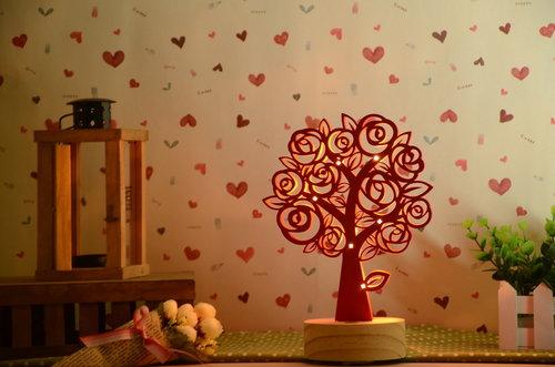 玫瑰樹精油燈