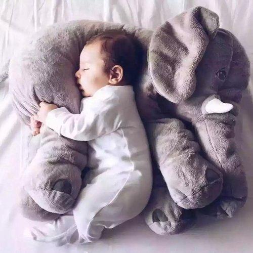 柔軟大象抱枕