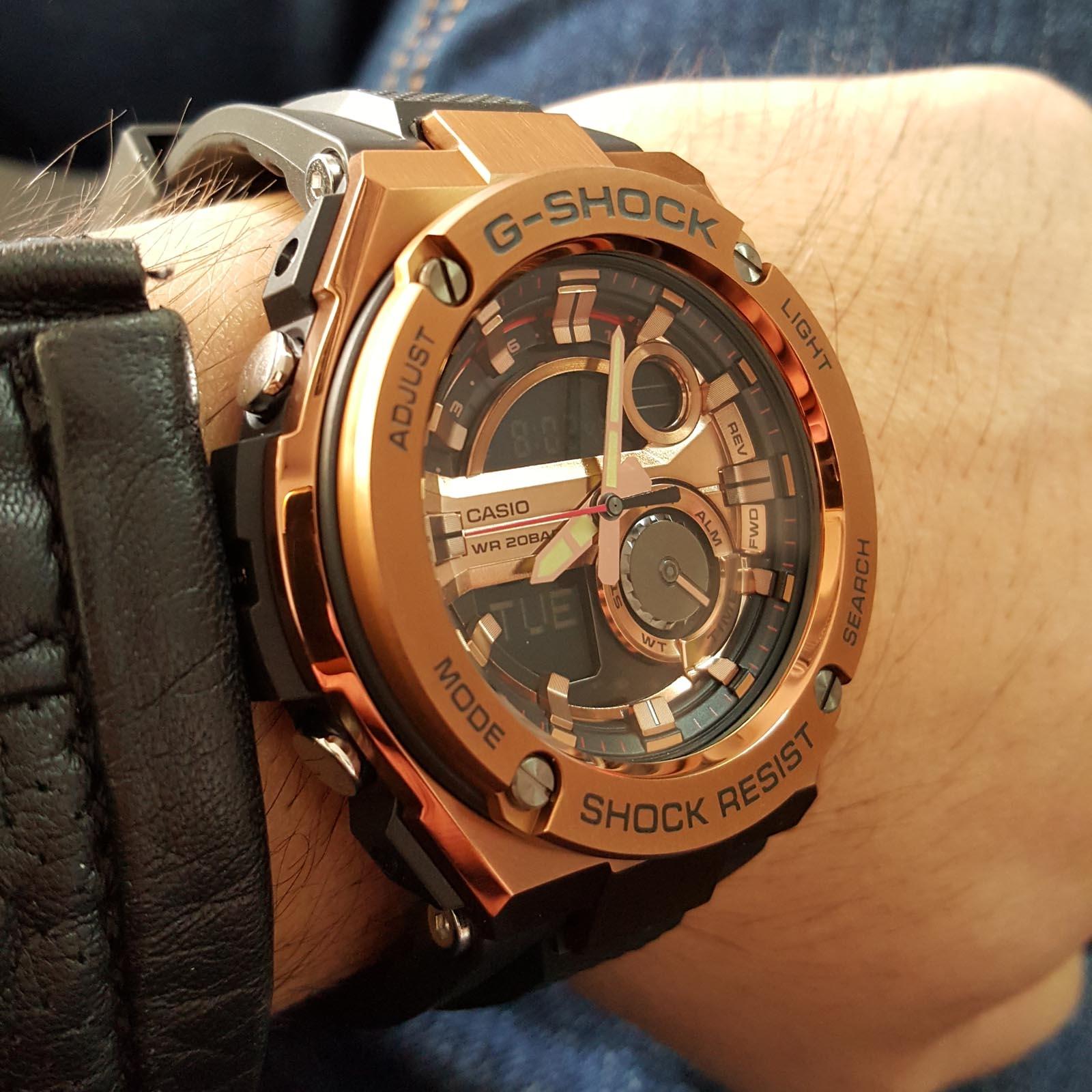 f5bd6073c Buy Casio G-Shock G-Steel GST-210B-4A Men's Watch