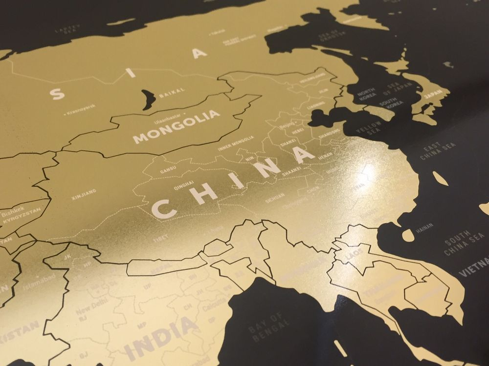World scratch map black x gold gumiabroncs Image collections
