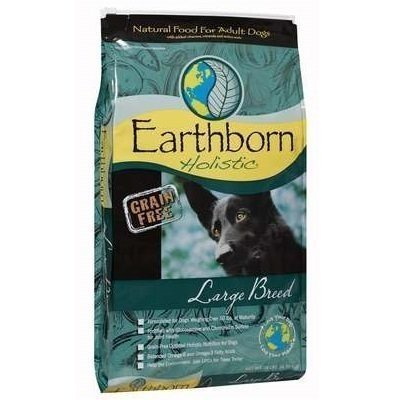 【原野優越Earthborn】14LB《大型低敏無穀犬(雞肉+蘋果+藍莓)》