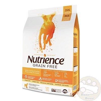 Nutrience紐崔斯無榖養生系列犬用火雞鮭魚配方5kg