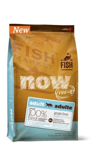 加拿大 NOW FRESH™ -4LB鮮魚無穀天然糧 成貓配方 貓乾糧飼料