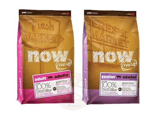 加拿大NOW FRESH™ -16LB鮮肉無穀天然糧 幼母貓配方/成貓配方/老貓&減重配方 貓乾糧飼料/貓乾糧