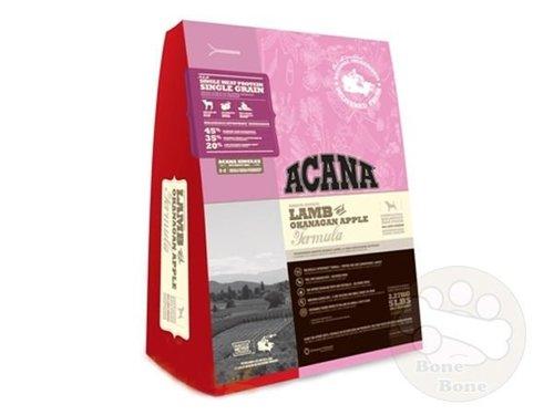 公司貨附發票+買飼料送好禮 ACANA全新愛肯拿(成犬)羊肉+蘋果2kg/6kg/11.4kg (單一蛋白)
