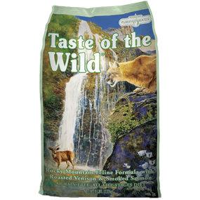 美國Taste of the Wild海陸饗宴愛貓《洛杉磯鮭魚鹿肉》5LB/貓飼料
