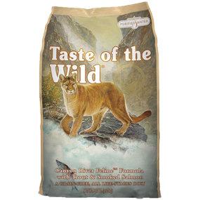 美國Taste of the Wild海陸饗宴愛貓《峽谷河鱒魚燻鮭》5LB/貓飼料