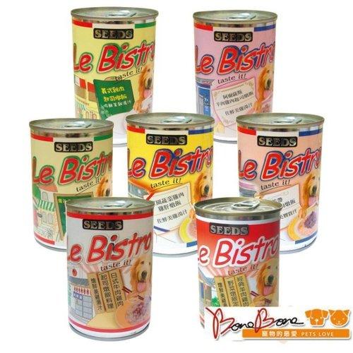 SEEDS惜時聖萊西 Le Bistro 狗罐 營養狗罐 愛犬機能罐 燉飯料理 375G/罐
