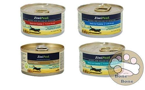 紐西蘭ZiwiPeak 巔峰95%鮮肉貓糧170G-羊肉.鹿肉.鹿肉鱈魚.牛肉/貓罐頭/主食罐