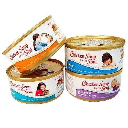 (整箱賣場)美國 Chicken Soup 心靈雞湯 主食貓罐/寵物罐頭156g