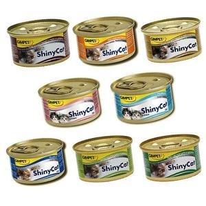 德國 GIMPET 竣寶 Shiny Cat 貓罐 營養幼貓罐/化毛貓罐/經典貓罐/貓草/麥芽