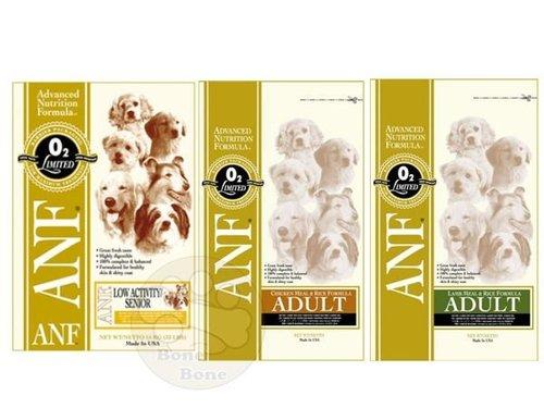 美國ANF愛恩富 現貨特級老犬/成犬(雞肉米/羊肉米)小顆粒/高齡犬/狗狗飼料 3公斤