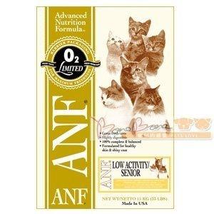 ANF愛恩富特級老貓/高齡貓配方3kg 貓咪飼料/低卡/低熱量