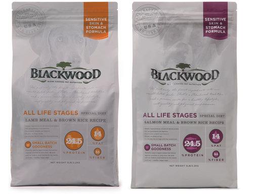 柏萊富 功能全齡犬 腸胃保健(鮭魚+糙米)/護膚亮毛(羊肉+糙米) 5lb 2.2kg