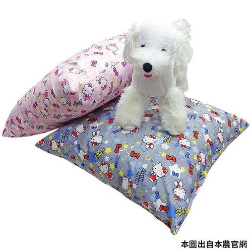 凱蒂貓~Fancy Pets X Hello Kitty 寵物趴趴枕 貓睡床 狗睡床 L (KITTY灰/粉)