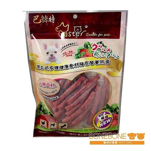 巴絲特 寵物健康膳食零食 一包入 (牛肉、羊肉、雞鴨、起司口味等)