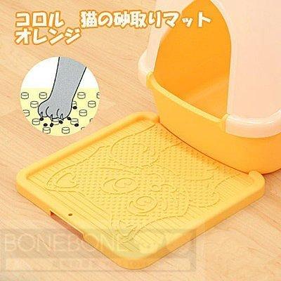 日本Richell利其爾 卡羅貓踏板/貓砂便盆踏墊/落砂板