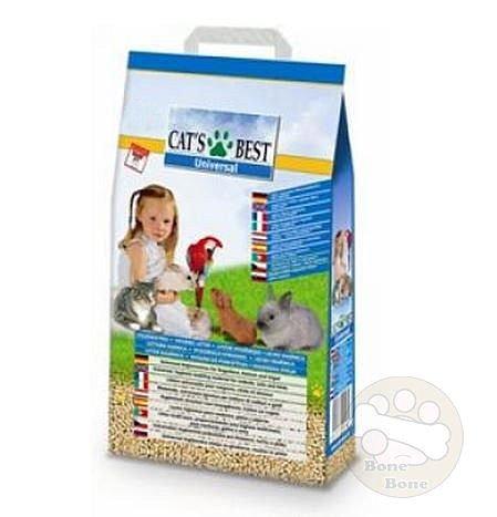 CAT'S BEST德國凱優 貓砂/木屑砂/藍標粗木屑砂.藍標木屑砂10L(超商取貨限寄一包)
