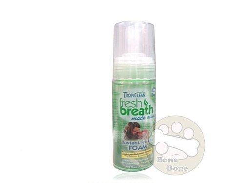 美國Fresh breath 鮮呼吸 天然寵物口腔潔牙慕斯 4.5oz/133ml 狗潔牙慕斯