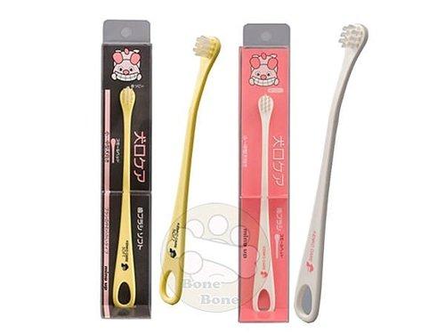 日本mindup 犬口ケア 口腔護理犬用、幼犬用軟毛迷你牙刷(小) 狗狗牙刷 寵物牙刷