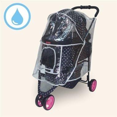沛德奧Petstro/推車雨衣/寵物推車雨罩/308P-RC/雨罩