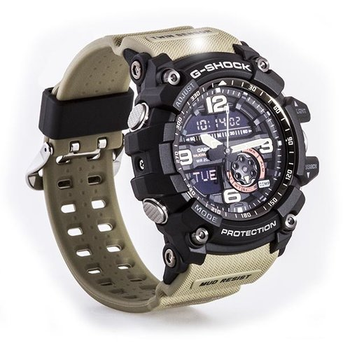 3c0fb155c1f0 Casio G-Shock GG-1000-1A5 Mudmaster Beige Men s Watch