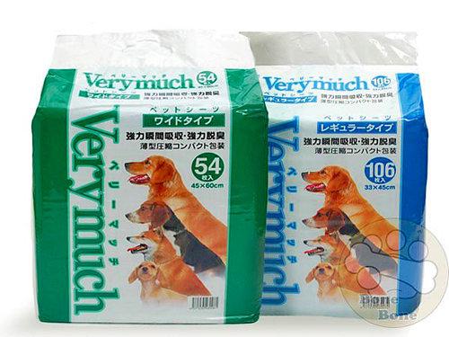 VERYMUCH 犬貓除臭抗菌尿片/尿布/大54入/小106入