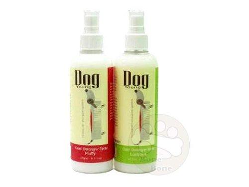 英國Dog Young柔亮型/澎鬆型抗打結順毛露/寵物護毛/SPA專用270ML