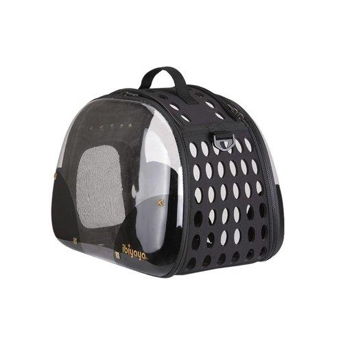 ibiyaya依比呀呀/透明膠囊寵物提包FC1220-HR/寵物提包/寵物外出/犬貓外出籠/外出袋