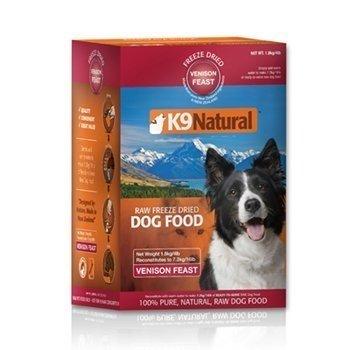 K9 Natural 生食餐 (冷凍乾燥) 鹿肉 1.8KG 低熱量 犬用鮮肉飼料 狗生食飼料 2包超取3包宅配