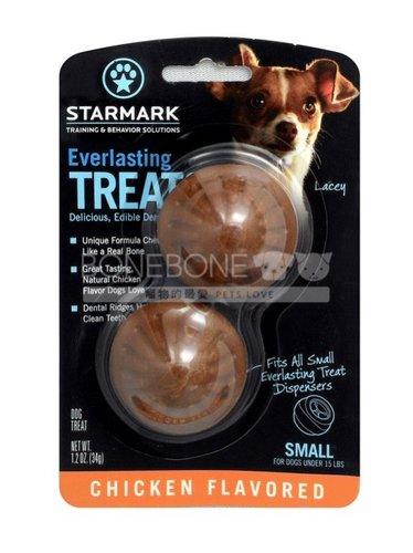 美國星記StarMark 磨牙餅 雞肉口味 S號 搭配玩具的潔牙抗憂鬱點心