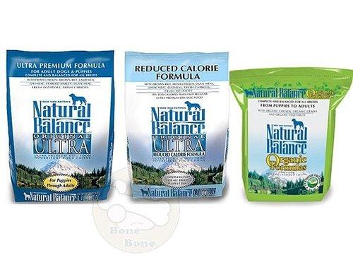 Natural Balance NB 特級低卡/特級狗糧小/大顆粒/有機雞肉抗敏5磅