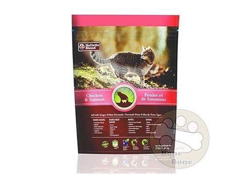 加拿大Holistic Blend®牧野飛行 獵戶座野牧雞+鮭魚 全天然貓鮮糧3磅