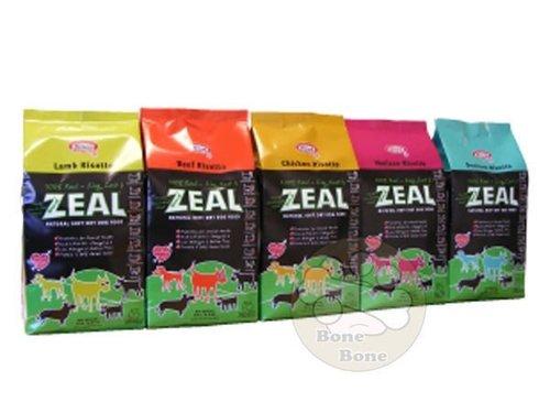 ZEAL 紐西蘭1LB天然寵物半軟全犬糧/軟飼料(鹿肉/羊肉/雞肉/牛肉/鱒魚)