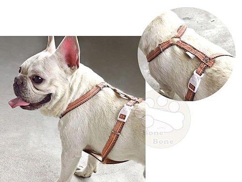 ppark殘線-H型胸帶/寵物牽繩/狗狗拉繩/胸背帶-(S號/M號) 另有同系列快扣拉繩賣場