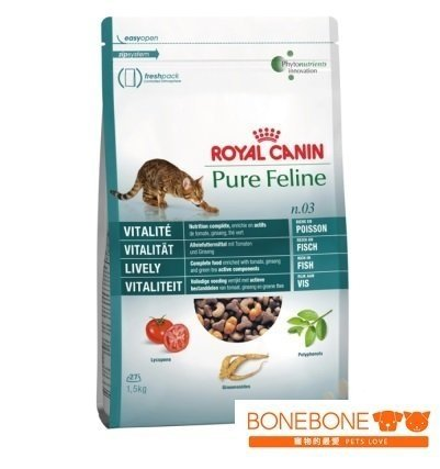 法國皇家Royal Canin/PF3 元氣四物補貓專用飼料 3KG