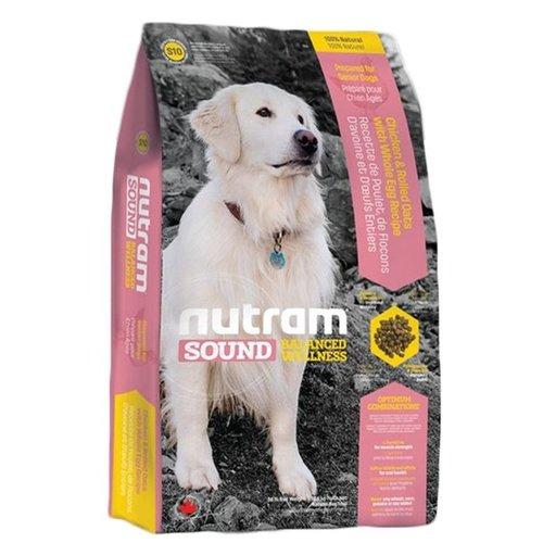 Nutram紐頓《S10老犬 雞肉燕麥》 2.72kg /狗飼料/老犬飼料/狗狗食品/均衡健康系列