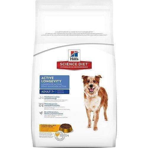2016新包裝~新效期~希爾思Hill's 高齡犬/熟齡犬 活力長壽配方(原顆粒)4kg 附發票正規貨源