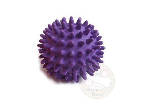 LEO DOG 乳膠玩具-刺蝟球/狗狗玩具/寵物玩具/安全玩具/紫色M號