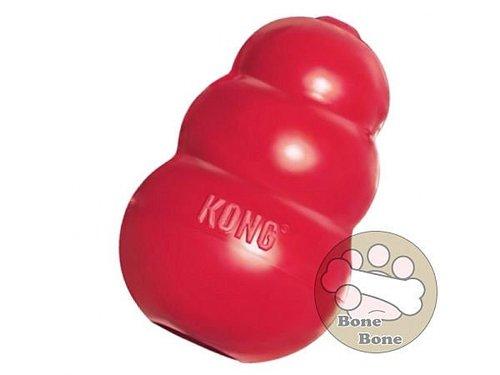 Kong玩具 T4紅色經典抗憂鬱玩具 XS號