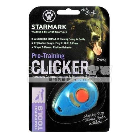 星記 美國 STARMARK 犬用狗訓練響片 響板 click 居家訓練 基本服從