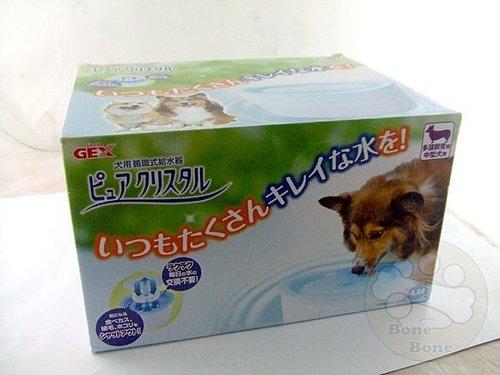 日本GEX電動飲水機4.8L/寵物水碗/狗狗喝水器/寵物飲水器