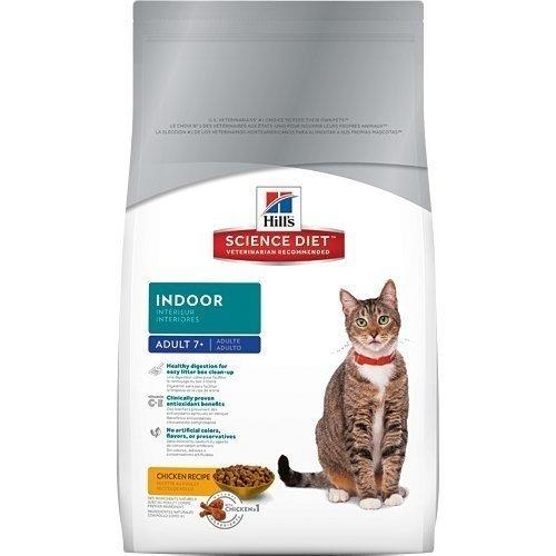 新包裝~正規貨源-附發票 希爾思Hill's 室內貓熟齡貓專用配方15.5LB(成貓7歲以上)