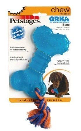 美國petstages #230歐卡耐咬骨頭/寵物玩具/狗狗口腔舒壓/啃咬健齒/互動玩具